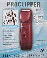 Машинка для стрижки волос Proclipper RC-2000, аккумуляторная