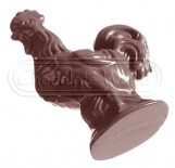 """Набір форм (4шт) для шоколаду """"Півень"""" 93x72x20mm"""