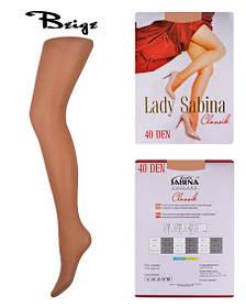 Колготки Lady Sabina 40 den Classic Beige р.2 (LS40Cl) | 5 шт.