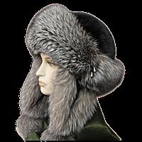 """Женская теплая зимняя шапка норка+блюфростНовая модель норковой шапки от украинского производителя фабрики """"Ро"""