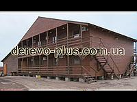 Готель деревянный