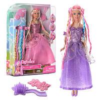 Кукла с набором косичек Defa арт. 8182