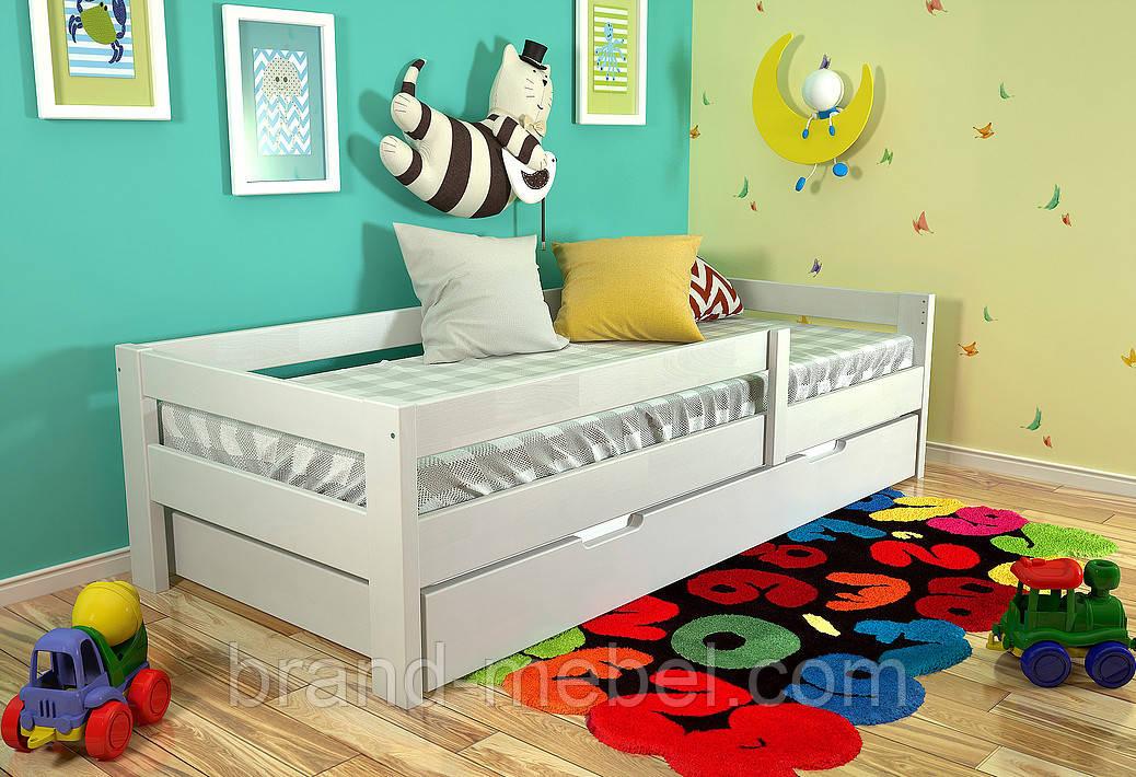 Дитяче дерев'яне ліжко Альф / Детская деревянная  кровать Альф
