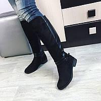 Зимові чоботи з ремішками