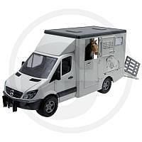 02533 Bruder MB SPRINTER для перевозки животных