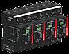 Комбинированный грозовой разрядник УЗИП SALTEK FLP-B+C MAXI VS/4