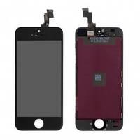 Дисплей (LCD) iPhone 5S/ SE с сенсором черный