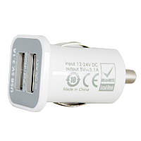 Зарядное устройство PowerPlant автомобильное в комплекте 2xUSB, PDA, MP3, AUTO, 3.1A (DV00DV5036)