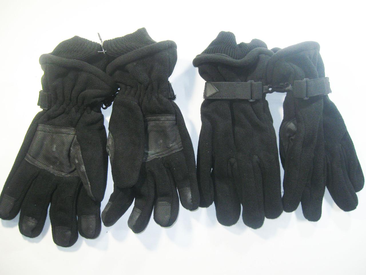 Перчатки мужские флисовые двойные, арт. Q-2-12