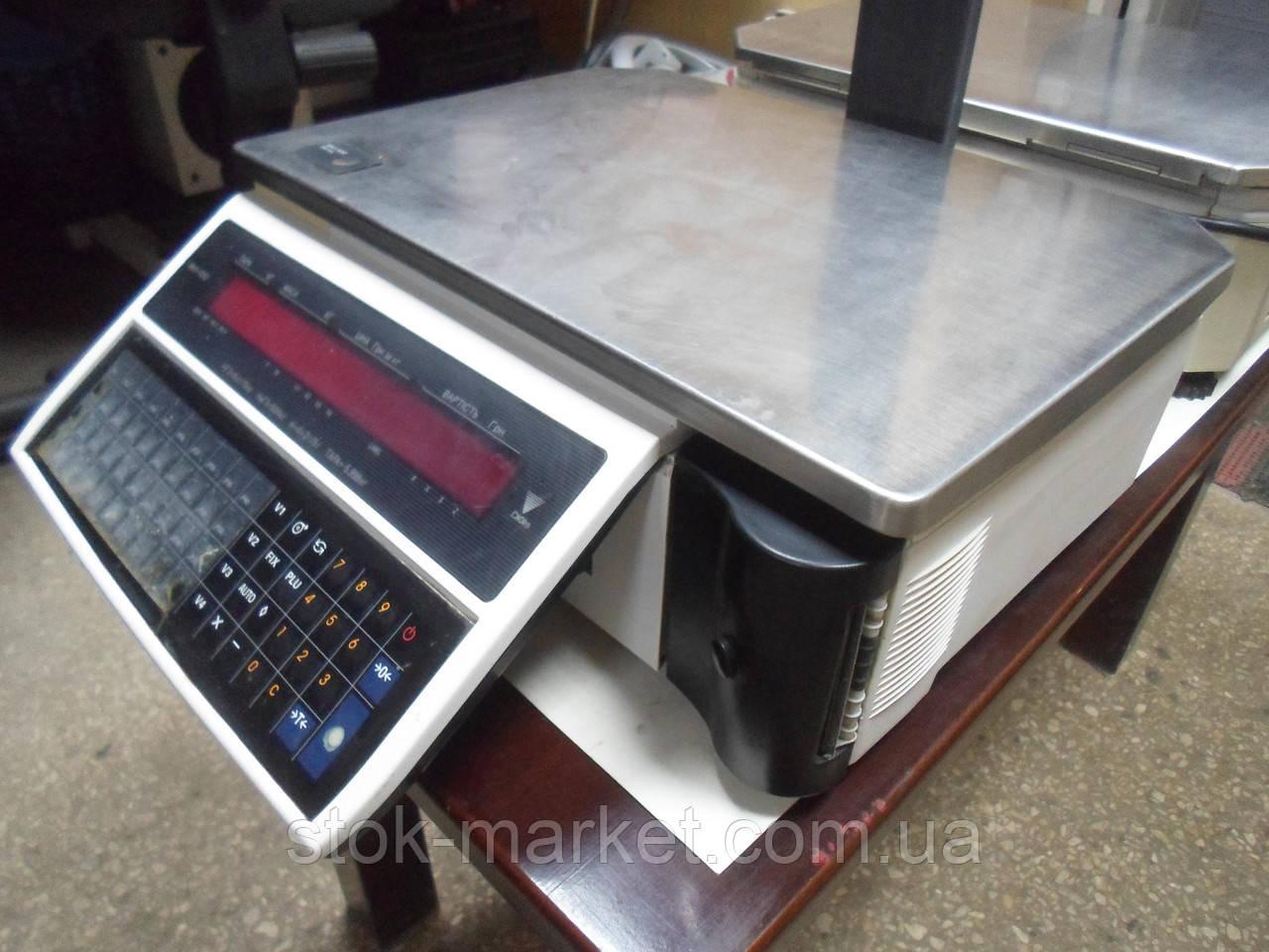 Ваги Digi SM-100 б/в, Ваги з чекодруком Digi SM100 б/в, ваги б, чекодрукуючі ваги б.