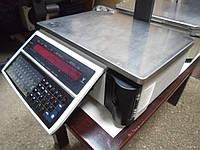 Весы электронные Digi SM-100 б/у, Весы с чекопечатью Digi SM100 б/у, весы б у, чекопечатающие весы б у.