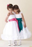 Детские нарядные платья к новогодним праздникам.