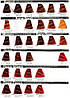 5/5 Cветлый каштановый махагон INEBRYA COLOR Крем-краска для волос на семенах льна и алоэ вера 100мл., фото 6