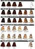 1/10 Сине-чёрный INEBRYA COLOR Крем-краска для волос на семенах льна и алоэ вера 100 мл., фото 7