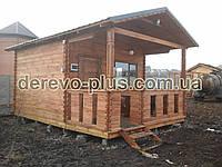 Домик деревянный  т01