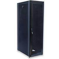 """Шкаф 19"""" 33U, 610х1055 мм (Ш*Г), черный, перфорированные двери"""