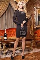 Вечернее элегантное черное платье 1977  Seventeen  44-50  размеры