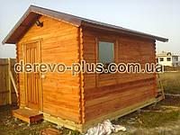 Домик деревянный  т02, фото 1