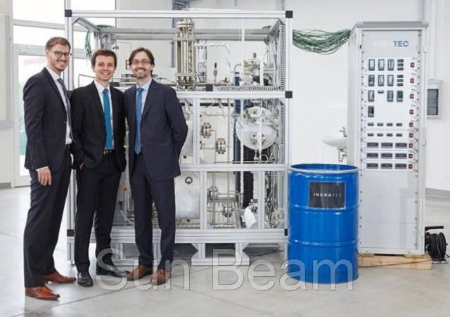Німецькі студенти розробили установку, що отримує паливо із повітря