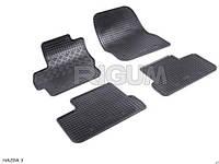 Автоковрики в салон RIGUM Mazda 3 (Мазда 3) 09> black 4 шт , компл