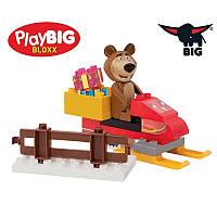 Конструктор Маша и медведь Снегоход BIG 57101