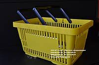 Корзины покупательские. Пластиковые корзины в магазин. Корзины для покупателей. Корзины для супермаркета, фото 1