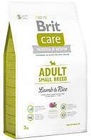 Корм для собак мелких пород Brit Care Adult Small Breed Lamb & Rice 3 кг