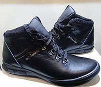 Мужские зимние кожаные ботинки columbia