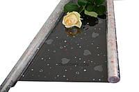 """Пленка для цветов """"Сердечки салют"""" 0,7 кг*1000мм"""