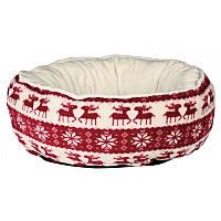 Trixie Santa Bed Рождественский лежак для животных 50см