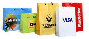 Пакеты бумажные под нанесение логотипа