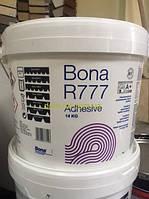 BONA R 777 – полиуретановый двухкомпонентный  паркетный клей                                                   Ведро 14 кг.