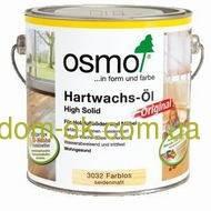 Масло с твердым воском для дерева , Hartwachs-OI 3032, OSMO 0.75 л.