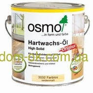 OSMO масло с твердым воском, Hartwachs-OI 3032. 2,5 л.