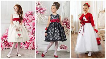 Sensorik.com.ua - пополнил каталог детскими нарядными платьями