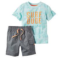 Набор: футболка, шорты Carters (3Т,4Т)
