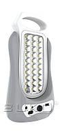 LED Фонарь BUKO WT391 2*30LED серый USB