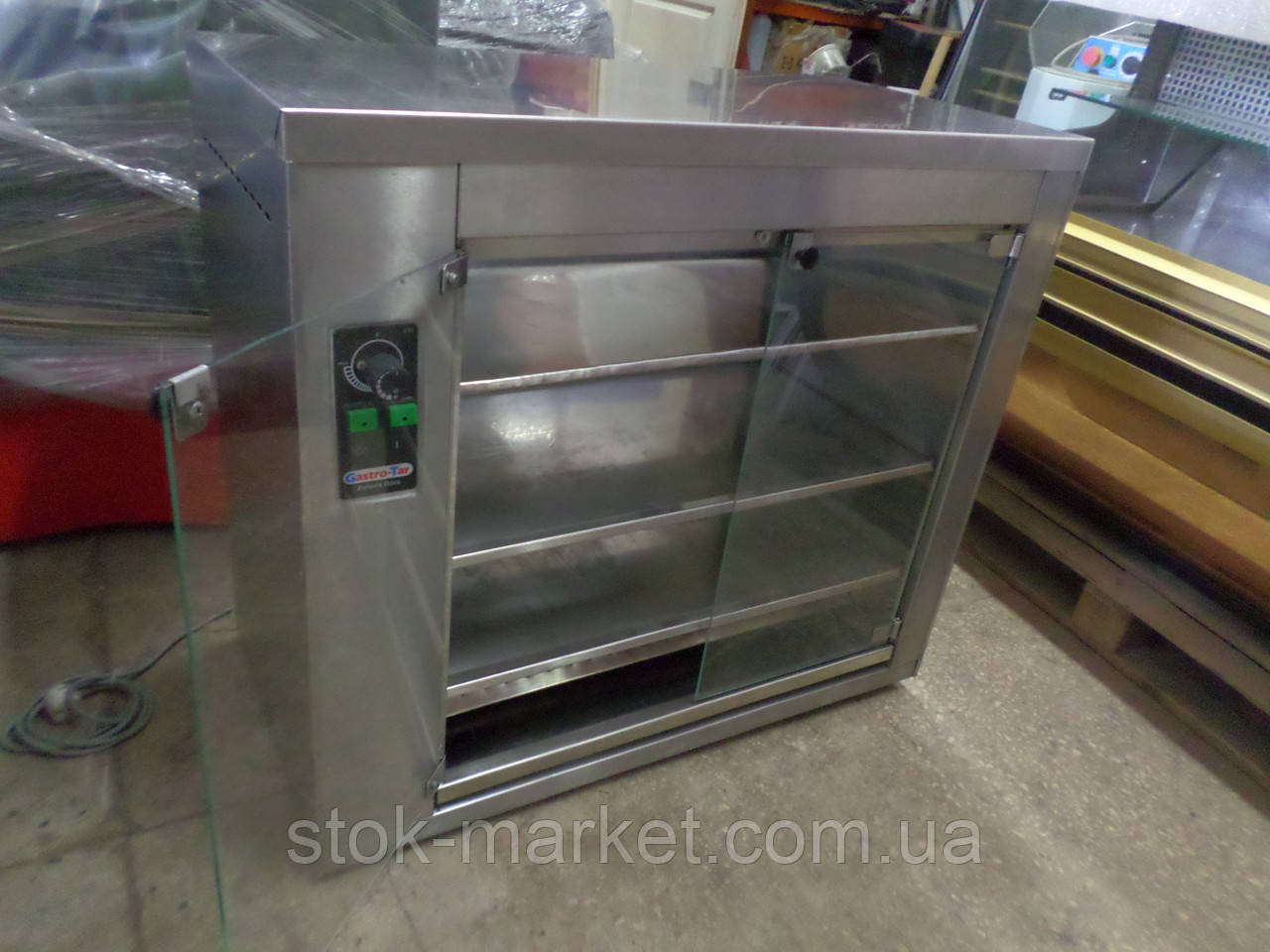 Тепловая витрина расстойка для роздачи в горячем состоянии мясных и других продуктов питания GASTRO-TAR SO-12