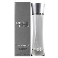 Armani Mania Pour Homme 100мл Туалетная вода для мужчин
