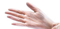 Перчатки виниловые ,неопудренные, Care365 Premium