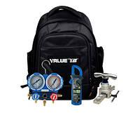 Набор Сумка VALUE VTB -8C ( вальцовка , коллетор  , труборез ,трубрасиритель,риммер, тестер, ключи