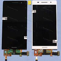 Оригинальный ЛСД экран и Тачскрин сенсор Huawei Ascend P6 модуль