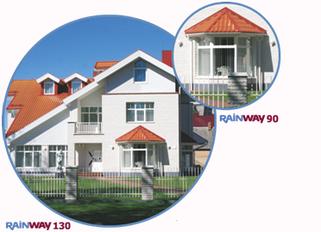 Водосточная система RainWay 130/100