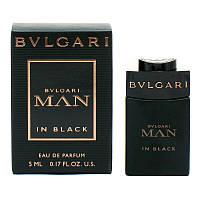 Bvlgari MAN In Black 5мл Парфюмированная вода для мужчин Миниатюра