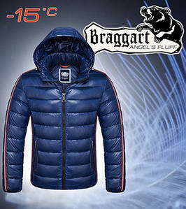 Мужская теплая куртка Braggart 48, Синий