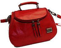 Женская сумка Мини Клатч Weilya fouded 7777-1 Красная