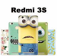 Силиконовый чехол для Xiaomi Redmi 3s с картинкой