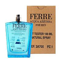 GF Ferre AQUA AZZURRA 100мл Туалетная вода для мужчин Тестер