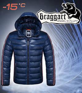 Пуховик мужской зимний Braggart 48, тёмно-синий
