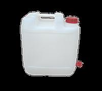 Канистра пластиковая пищевая 20 литров с краном